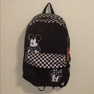 DISNEY MINIE & MICKEY MOUSE BACKPACK